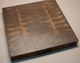 Black Walnut End Grain Cutting Board