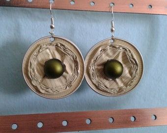 Beige Earrings by Ilary