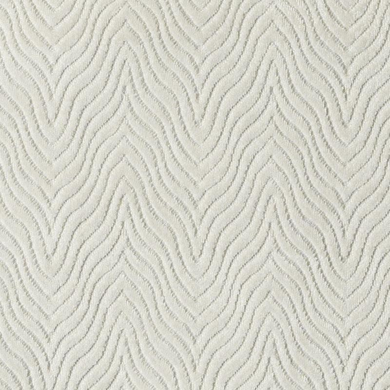 Contemporary Ivory Velvet Upholstery Fabric Textured
