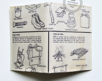 Passport Cover - camping