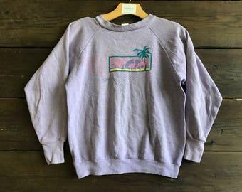 Vintage 80s Lake Tahoe Sweatshirt