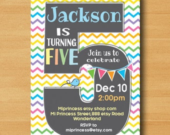 Rainbow Birthday party, first birthday, 2nd birthday, 3rd birthday, 4th birthday, 5th birthday, 6th birthday, 7th birthday,  card 614
