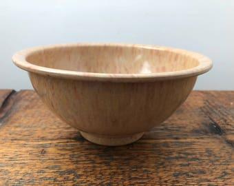 Vintage Texas Ware 111 Small Confetti Splatter Mixing Bowl - Speckled Large Bowl - Melmac Bowl - Melamine Bowl