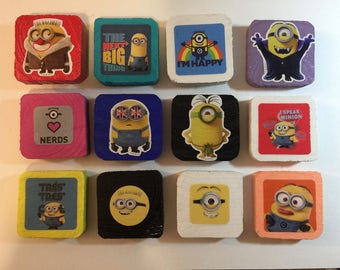 Minions magnets - Lot of 12