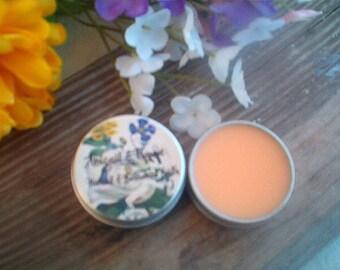 Mango Lassi Lip Balm, Lip Tin, Indian Drink Flavor, Yummy, Creamy Lip Balms, For Dry Chapped Lips, Mango Lip Balms, Abagail & Thyme