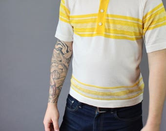 60's Vintage Men's Knit Shirt