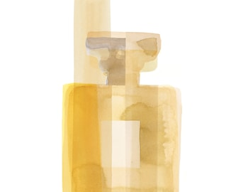 Parfum | Chanel inspired watercolour giclee print by Joanna Layla