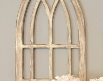 Farmhouse arched frame
