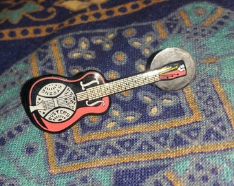 Infamous String Dusters Guitar Pin