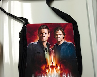 Supernatural Inspired Messenger Bag / Purse