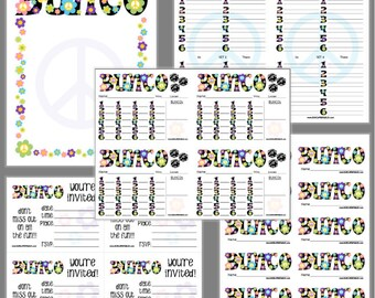 Bunco invite Etsy