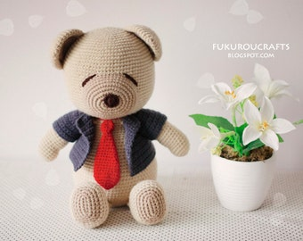 Pattern: Crochet  Bear Doll