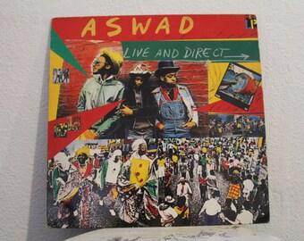 "Aswad - ""Live And Direct"" vinyl record, UK Import, Reggae"