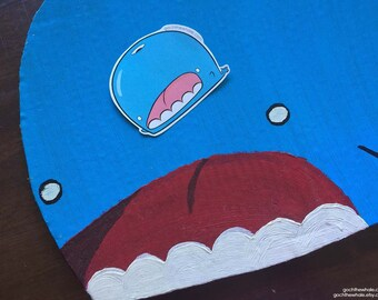 Goch the Whale Sticker