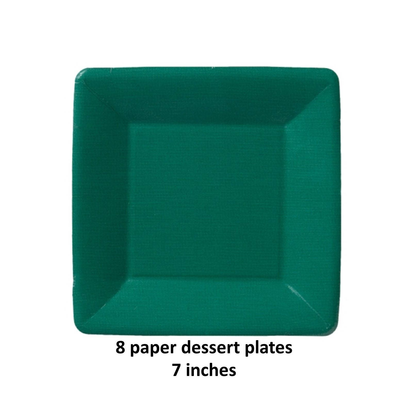 $4.50  sc 1 st  Etsy Studio & dark green plates Mardi Gras party ideas Fat Tuesday St Patricks ...