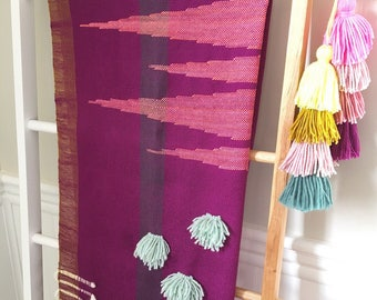 Handwoven Scarf // Scarf // Weaving