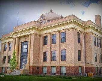 Ashley Courthouse Circa 2013