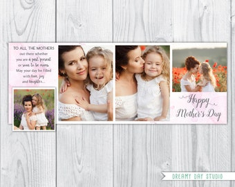 mothers day facebook timeline, happy mothers day facebook timeline, facebook timeline template, photography template, marketing template