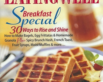 Vintage Eating Well Magazine March & April 1996 The Magazine of Food and Health PSS 3566