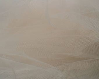 Pink champagne - Superfine Italian tulle   - 3m wide- 118 inches wide- sold by the yard