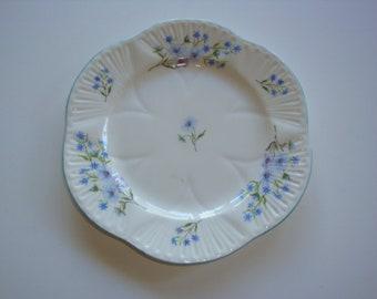 "Shelley BLUE ROCK 8"" Salad Plate"