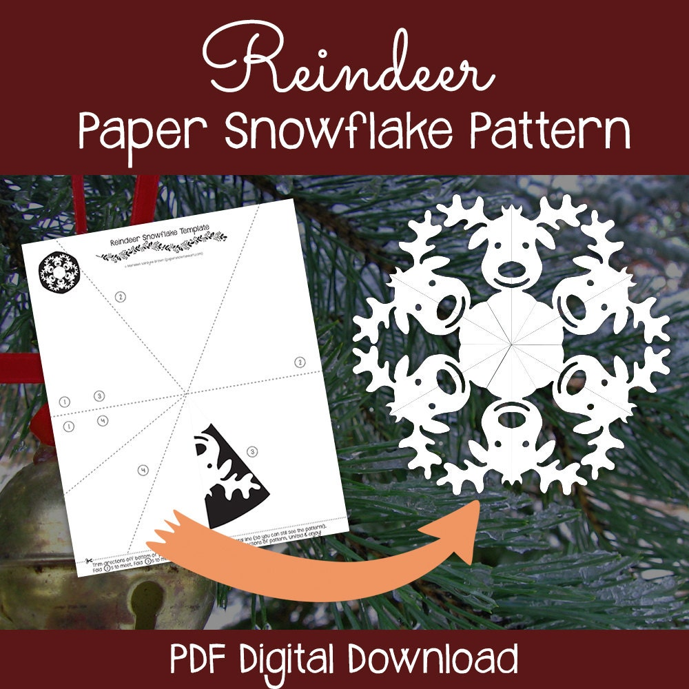 It is a picture of Magic Snowflake Patterns Printable