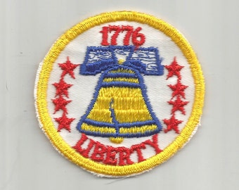 Liberty 1776 authentisch 1970er Jahre Vintage DIY Handwerk Nähen Patch Retro-Applique