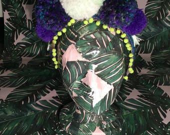 Pom Pom & Tassel Headband