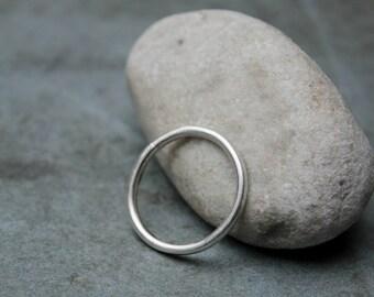 NOON - minimal silver ring