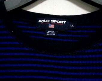 Sale Vintage Polo Sport striped 90s