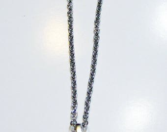Necklace called Angels Heart with Crystals