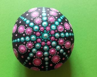 mantala dot painting