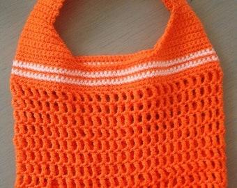 Crocheted Tote Bag