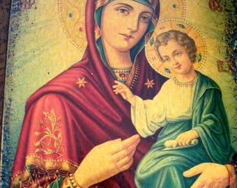 Vintage Madonna and Child