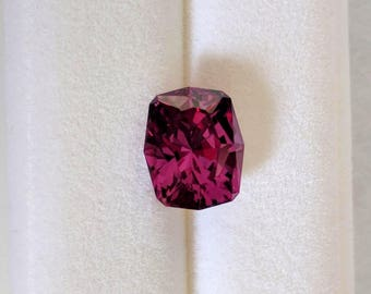 2.24 Carat Rectangular Cushion Cut Color Change Garnet