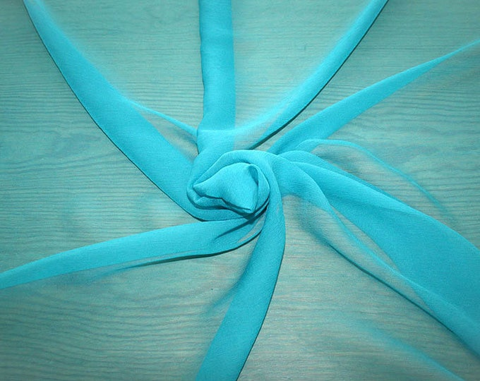 326095-Chiffon Natural silk 100%, width 127/130 cm, made in Italy, dry cleaning, weight 29 gr