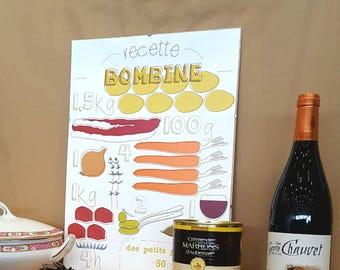 """Poster - """"Bombine"""""""