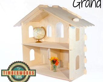 Wooden Waldorf Dollhouses: Various Sizes