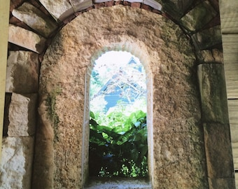 Stone Archway Photograph on Canvas