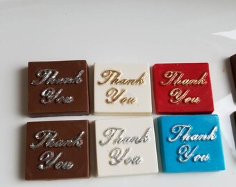 Thank You Chocolate Favors