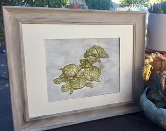 Baby Nursery Gift - Sleepy Baby Turtles