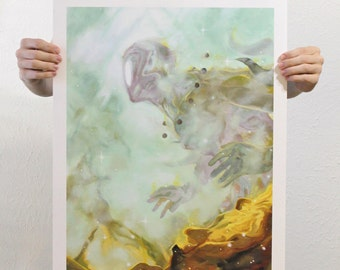 """Giclee Art Print - """"Through the Aether"""""""