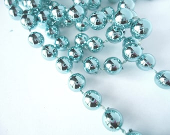 PEARLS TURQUOISE BY THE YARD