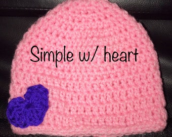 Beanies all sizes.  Made to order!