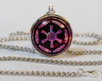 Handmade Star Wars Galactic Empire Pendant Necklace