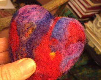 Made to order felt Rebellion Heart