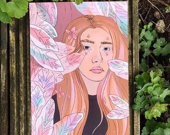 A4 Flower Series 3