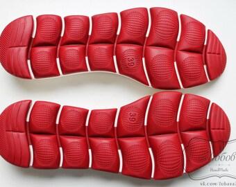 Rubber soles for crochet shoes. High quality. Original design. Beautiful soles for women's shoes.