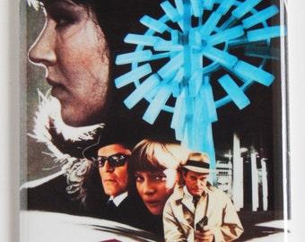 Alphaville Movie Poster (Japan) Fridge Magnet