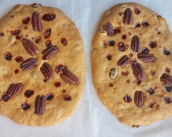 2 Small Gourmet Semita Bread. JewishBread. SemiticBread. ArtisanBread. VeryPopular in Northern México. PanSemita BustamanteStyle. Sugarcane.